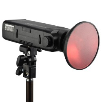 Mini reflector Godox AD-M with filters