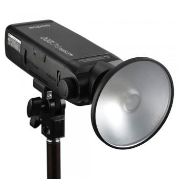 Mini reflector Godox AD-M para AD200 con filtros