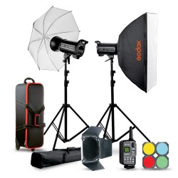 Studio flash kit Godox QTII...
