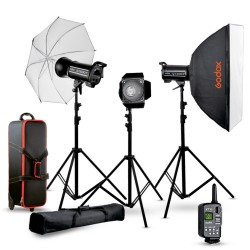 Studio flash kit 2 Godox...