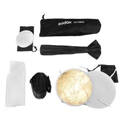 Godox Softbox AD-S85S parabólico plateado 85cm