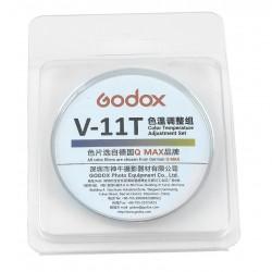 Godox V-11T zestaw filtrów żelowych do korekty temperatury