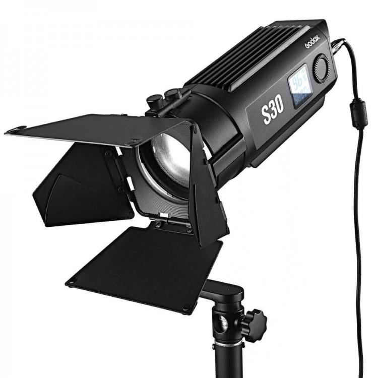 Godox S30 LED lampa LED i wrota SA-08