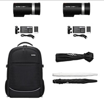 Godox AD300 PRO TTL Kit Dual set 2xAD300 + backpack