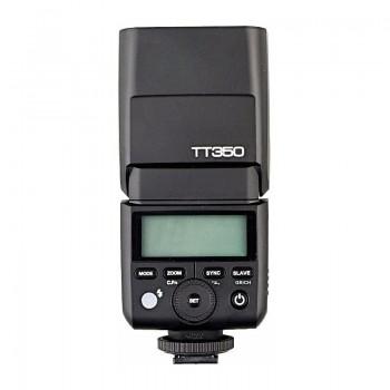La lámpara de flash Godox TT350 Speedlite para Pentax
