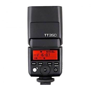 Lámpara de flash Godox TT350 Speedlite para Fuji