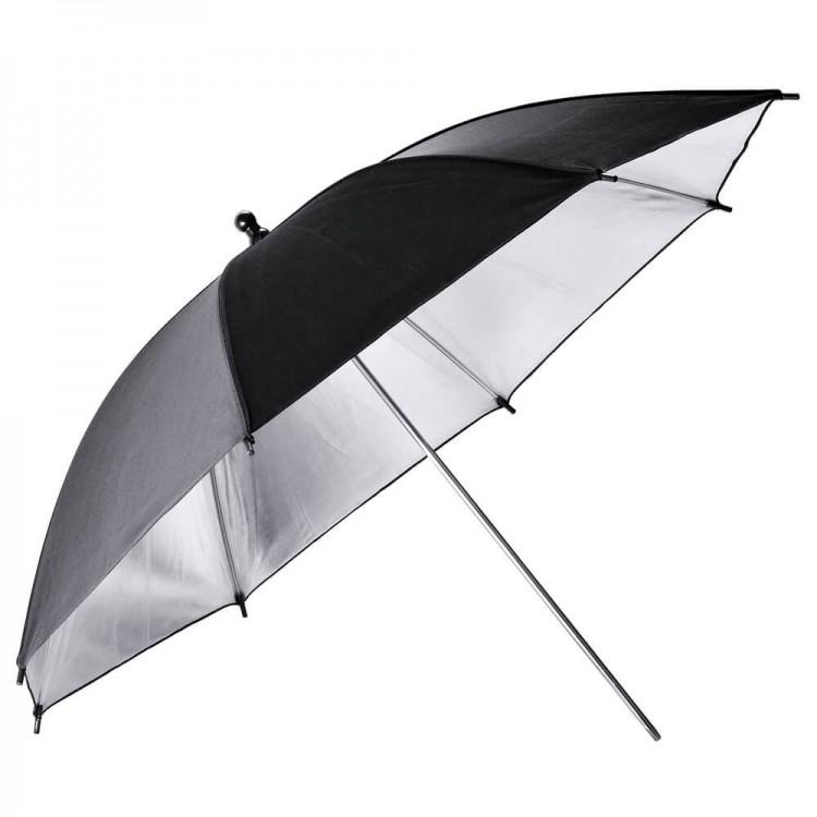 Paraguas GODOX UB-002 negro y plateado 84cm