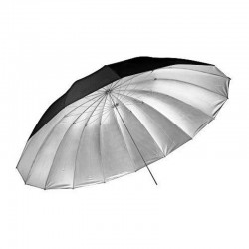 Paraguas GODOX UB-L3 60 negro plateado grande 150cm