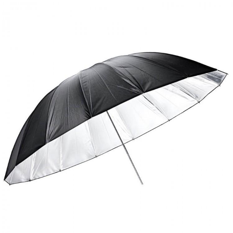 Parasolka GODOX UB-L3 75 czarno srebrna duża  185cm