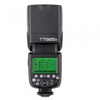 La lámpara de flash Godox TT685 Speedlite para Fuji
