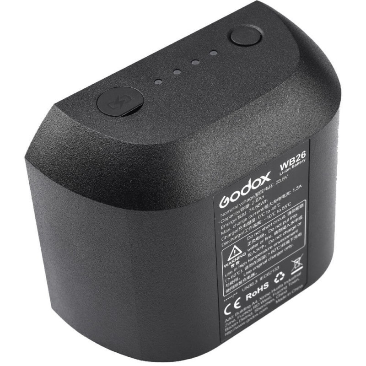 Batería Godox WB26 para AD600 Pro TTL