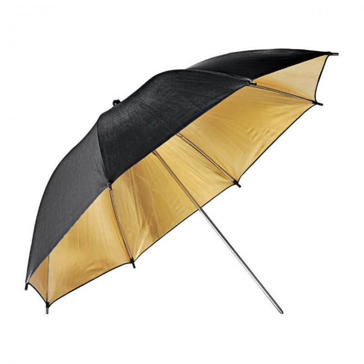 Parasolka GODOX UB-003 czarno złota  84cm