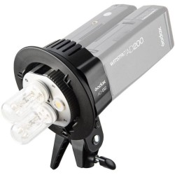 Godox AD200 AD-B2 twin head...
